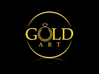 Gold Art Logo Design