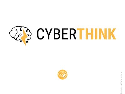 Logo: Cyber Think branding design logo design logo