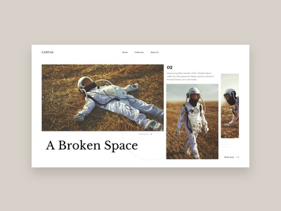 CANVAS Collection - A Broken Space