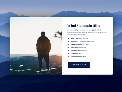 Hike website popup | Practice design website popup practice