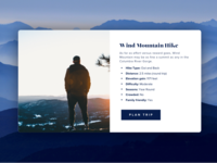 Hike website popup | Practice