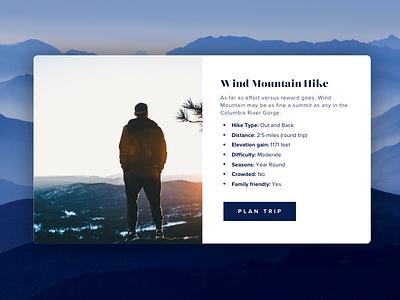 Hike website popup | Practice design website popup practice