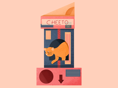 Cats and Boxes - 36 days animal dog pet cat behaviour boxes type numbers lettering 36 days of type box cat character illustration