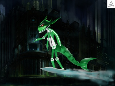 Iron Machine Robotic Character