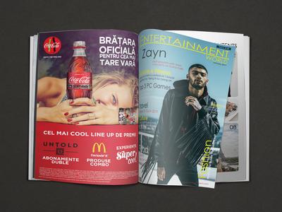 Entertainment World Magazine Mockup