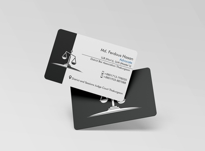 Business Card for Advocate