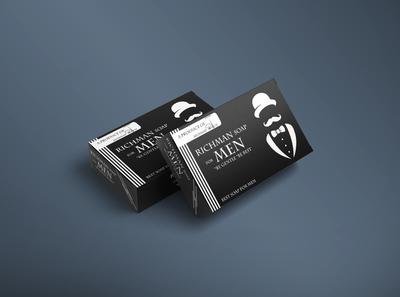 RICHMAN Soap For Men Package Design