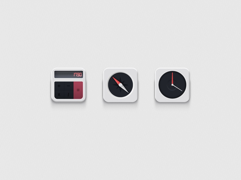 IOS Apps Icons