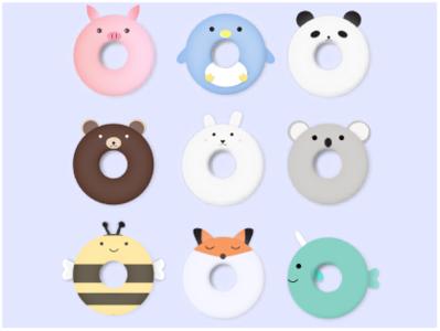 甜甜圈系列 插图