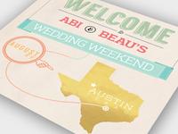 Wedding Weekend - WIP