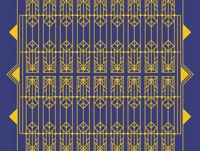 Art Nouveau graphic design illustration