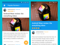 Android L Reviews