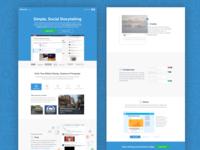Storify Homepage 2014