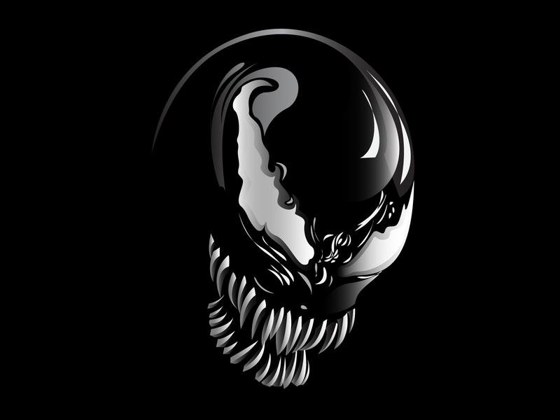 Venom Grin Vector: Venom By Hardian On Dribbble