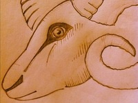 Aries Label Sketch