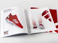 Adidas magazine spread