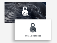 Whale Defense Logo Presentation