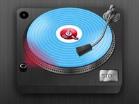DJ Tecknique record player