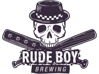 Rude Boy Brewing - Skull logo w/ cracked type