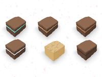 Brownies (and a Blondie)