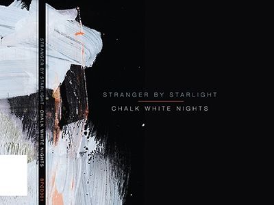 S X S EP design cd music artwork painting typography oxbow stray ghost stranger by starlight