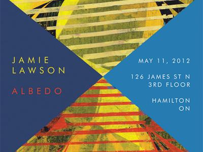 Jamie Lawson Albedo Poster exhibition art albedo poster design painting
