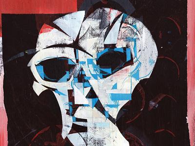 DH 1 exhibition art albedo design painting skull illustration