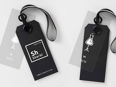 Sherbi Fashion Lab_logo айдентика lab fashion дизайн брендинг графический дизайн логотип