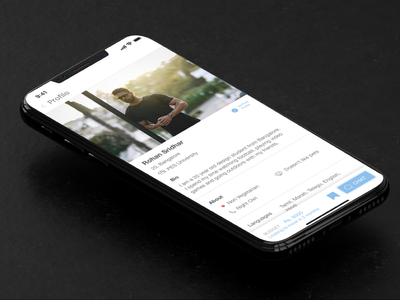 Homie - The Roommate App user interface design minimal app ui ux uiux ux design ui design roommate iphone x app concept