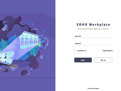Zoho Workplace Redesign