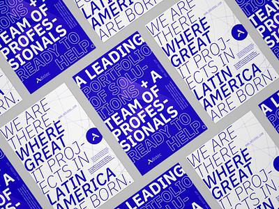 Adistec Branding - Posters poster design poster