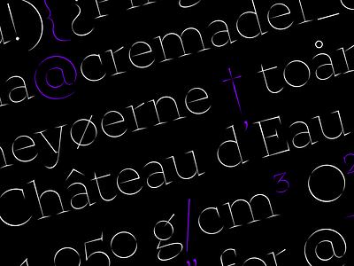 Hejira Typeface font design typeface design typeface typogaphy