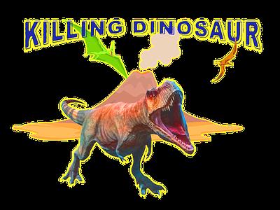 Kiling dinosaur illustration animal animation dinosaurs dinosaurus
