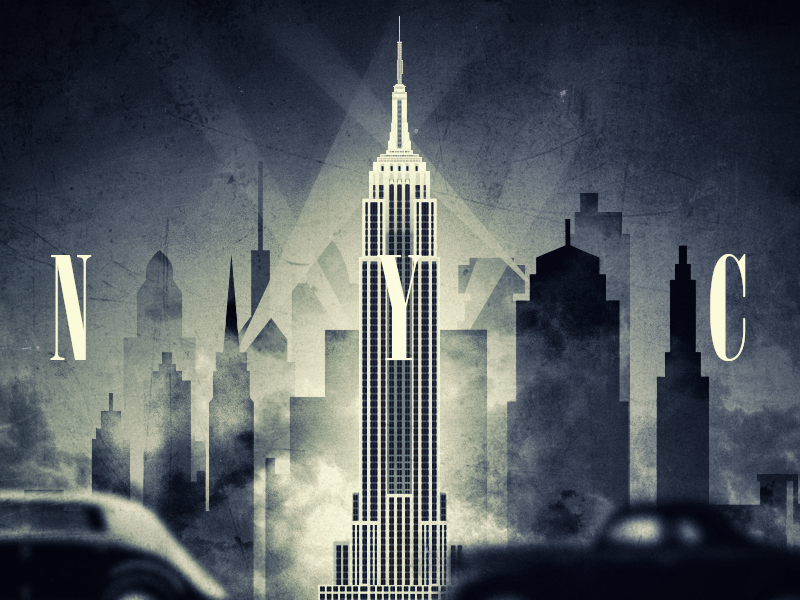 N Y C york illustration nyc new york graphic design poster new