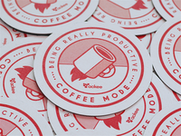 Ackee coasters — Coffee mode