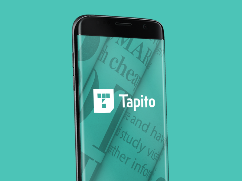 Tapito behance shot