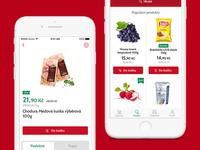 Kosik.cz online supermarket app