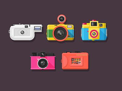 Lomo Vector (.GIF) camera colorful holga buatoom lomo