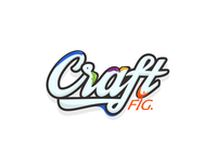 Craftfig. Sticker