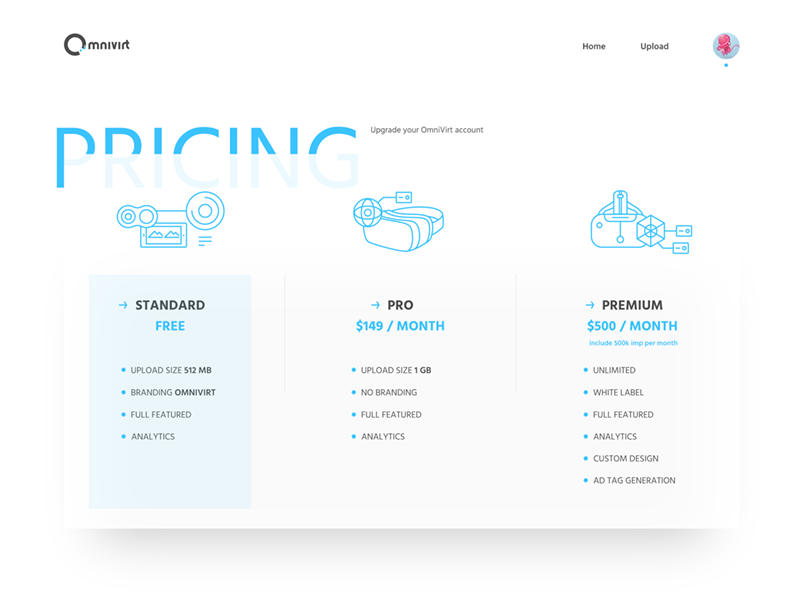 80+ Creative Pricing Page Design Inspiration - Freepsdhtml