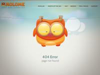 MOLOME 404 page
