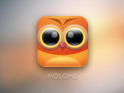 MOLOME app icon icon character photo sharing camera