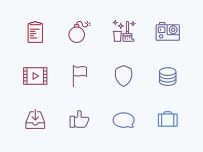 Lovely icons, pt. 3 ui illustration icon set icon design branding