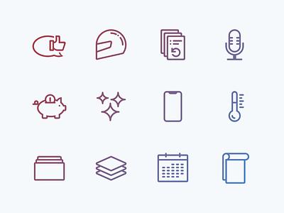Lovely icons, pt. 2 icon set icon illustration design branding ui
