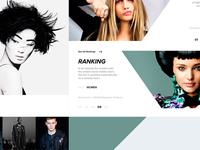 Models.com Redesign