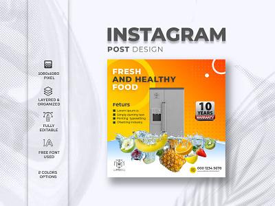 Instagram post design identity logo clean design branding illustrator instagram banner ig add instagram post