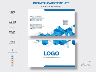 Business Card Design personal card personal orange modern template modern design modern minimalist line green elegant design cyan creative corporate clean card design business card business blue black