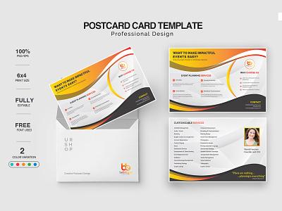 Postcard Design character lettering clean illustrator design illustration typography branding poster art logo flyer poster