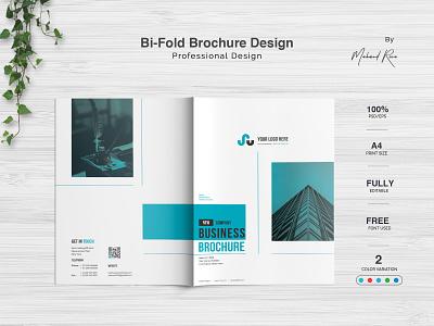 Bi Fold Brochure Design logo character lettering clean illustrator design illustration typography branding poster flyer brochure