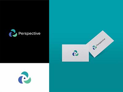 Perspective design proffesional logo modern logo minimalist logo logo design logo company logo clean logo branding design branding